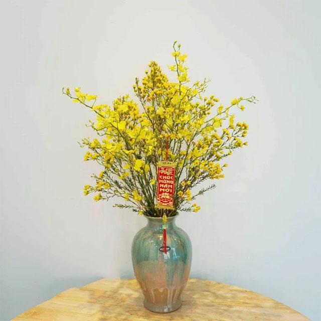 10 loại hoa chưng bàn thờ ngày Tết - hoa thanh liễu