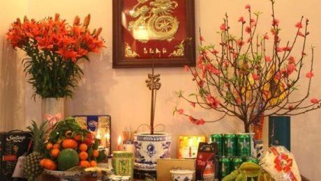 10 loại hoa chưng bàn thờ ngày Tết tại Việt Nam