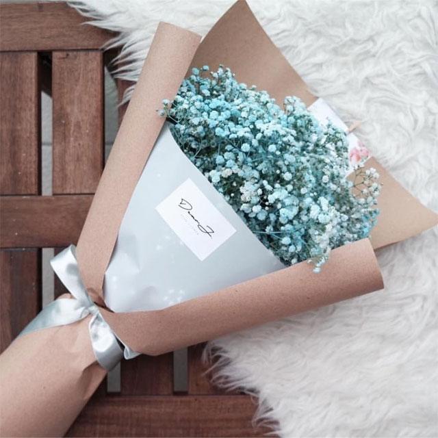 ý nghĩa hoa baby xanh